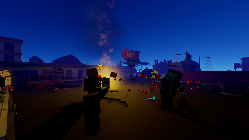 69 ways to kill a zombie VR game screenshot