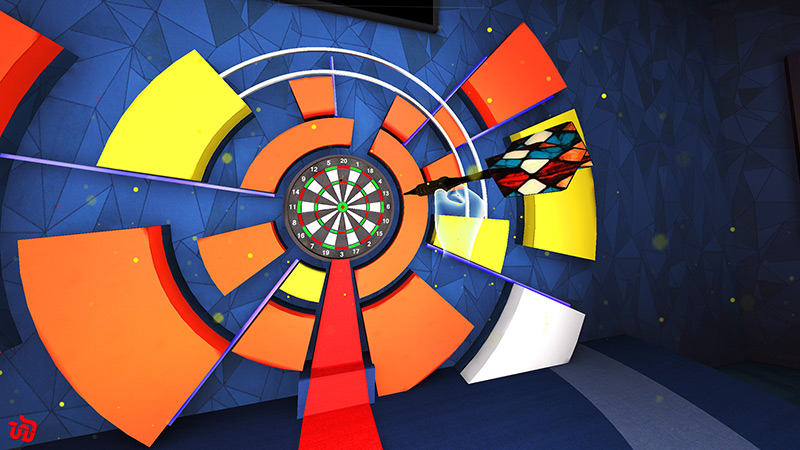 Darts VR video game screenshot
