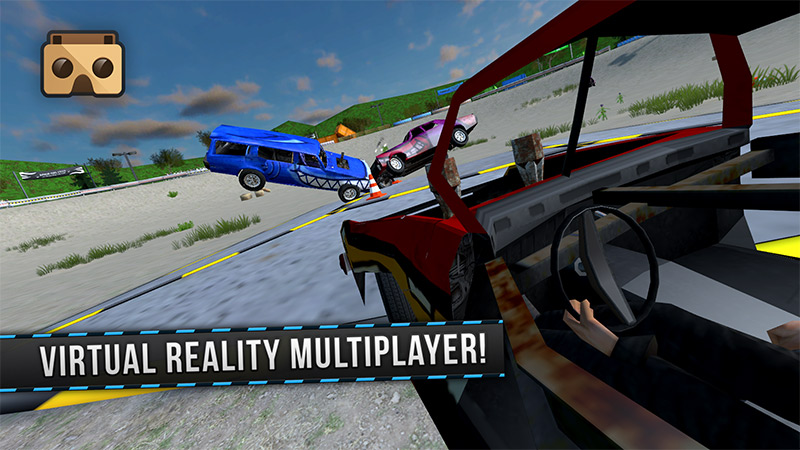 Demolition Derby VR Racing Review