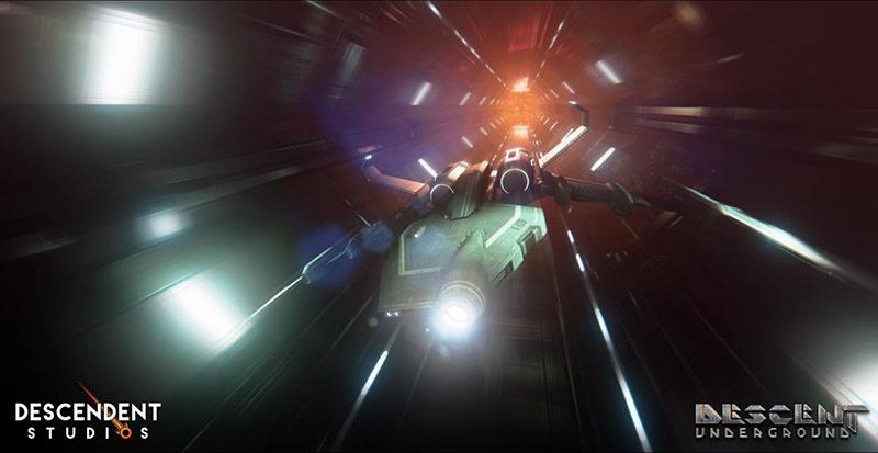 Descent Underground game screenshot
