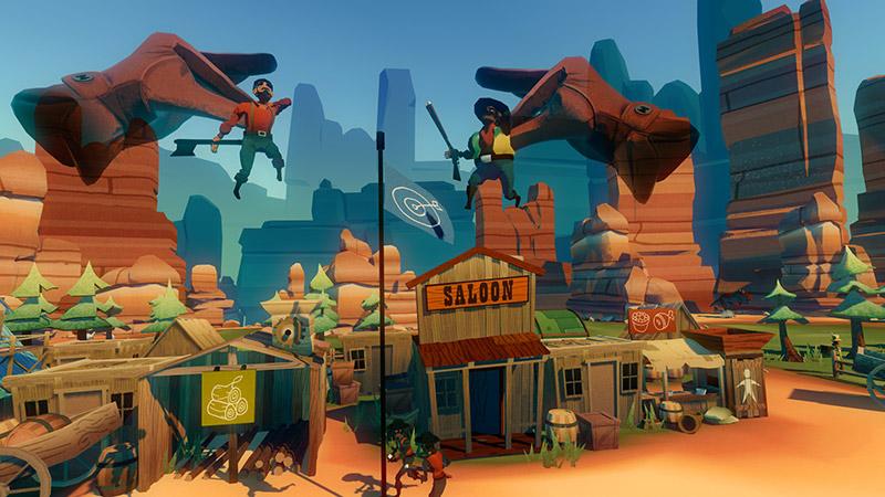 Dino Frontier game screenshot