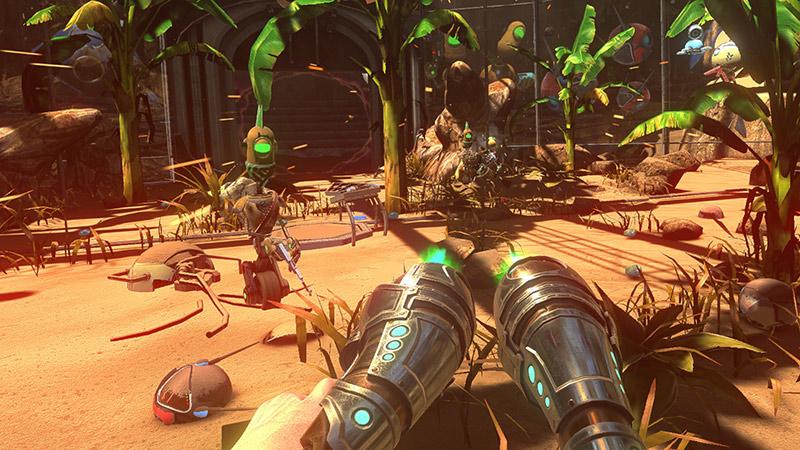 Disassembled VR game screenshot