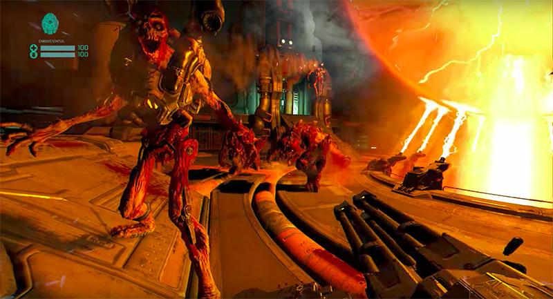 Doom VFR videogame screenshot