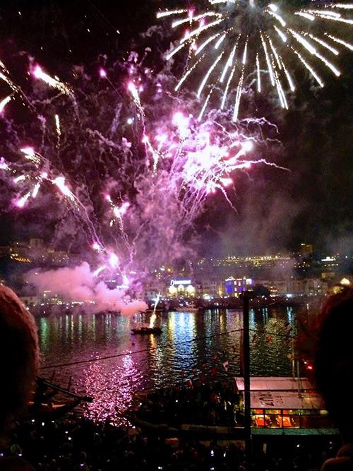 Fireworks, San Joao, Porto Portugal