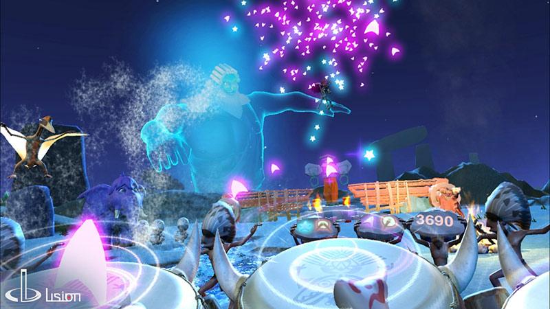 Happy Drummer VR game screenshot