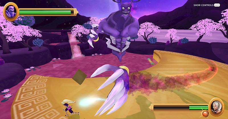 Nemesis Perspective videogame screenshot