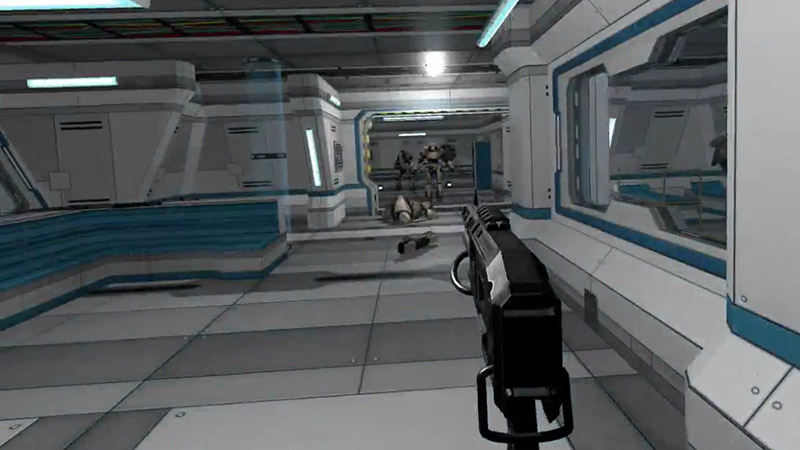 Raygun Commando videogame screenshot