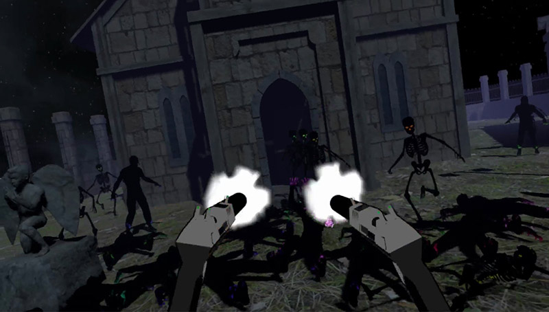 Sharp Shooter VR game screenshot