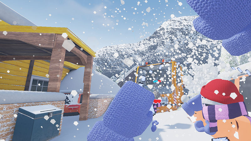 Snow fight game, Snowday screenshot