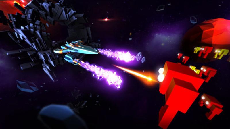 Space Bit Attack game screenshot
