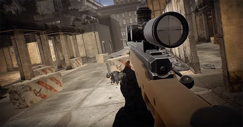 Special Forces VR game screenshot