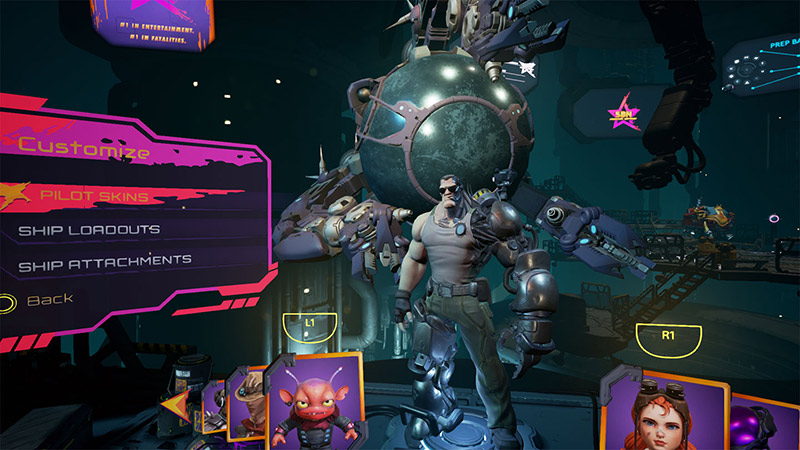 Starbloody Arena in-game screenshot