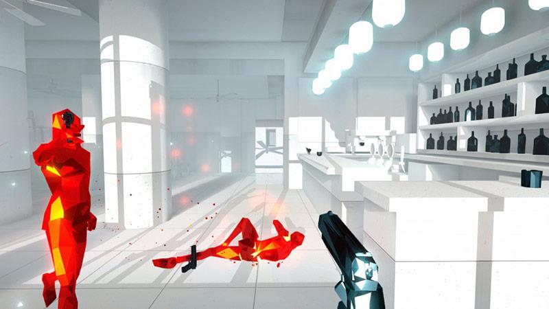 Superhot videogame screenshot