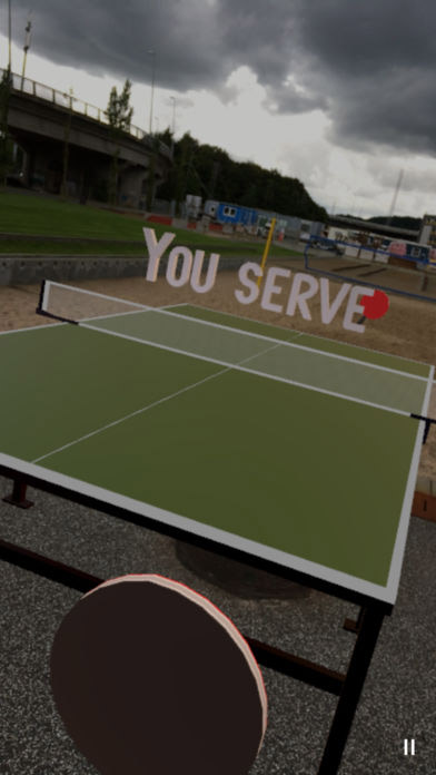 Table Tennis Augmented Reality game