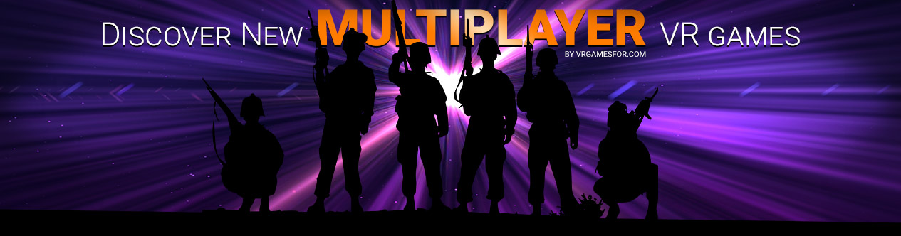 Mutiplayer VR games, soldiers silhouette